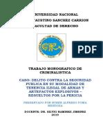 TRABAJO DE CRIMINALISTICA.doc