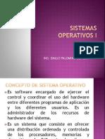 Sistemas Operativos 2019 i