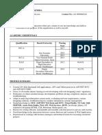 PrashantGirase Resume
