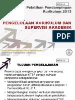 pengelolaan supervisi akademik