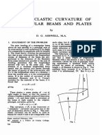 The Anticlastic Curvature of Rectangular Beams and Plates- Ashwell1950