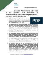 Ayudas para Autonomía Personal Diputación de Palencia