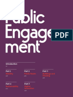 The Public Engagement Process for Sidewalk Toronto