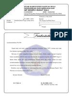 Surat Pemberitahuan Tugas