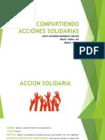 Acciones Solidarias