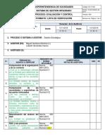 EC F 004 ListaVerificacion 9001