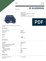 SCHMERSAL Final de Carrera TS064-21Y