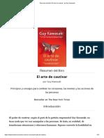Resumen Del Libro 'El Arte de Cautivar', De Guy Kawasaki