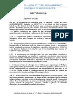 MODELO DE ESTATUTO SOCIAL OSCIP