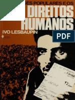 Lespaupin, Ivo - As Classes Populares e Os Direitos Humanos