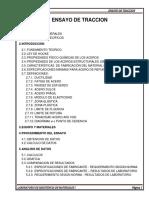 ENSAYO A TRACCION- RESISTENCIA DE MATERIALES