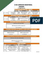 Horario IV Trimestre 19, CLM, Dipls y LP