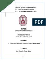 Monografia 2 Matemática Financiera Interes Compuesto
