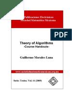 teoria de algoritmos