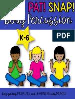 Body Percussion Preview