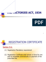 Factories Act 1934