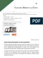 Ritual Del Pilar Del Medio y La Cruz Cabalística _ Ekiria