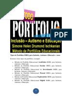 Método de Portfólio Educacional SHDI, Para Inclusão, Autismo e Educação.