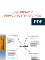 Seguridad y Privacidad de Big Data