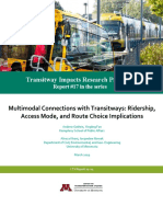 Transitway Impacts Research Program
