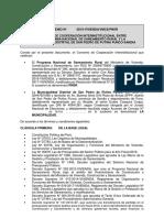 Modelo Convenio Municipalidad-Programa Nacional de Saneamiento Rural