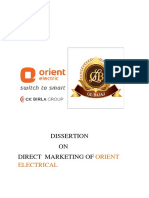 Orient Electrcal Final Report 2