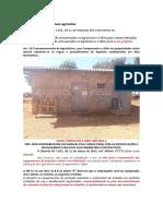 Relatório segurança fazenda