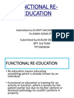 Functional Re-education by Kusum-wps Office