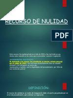 Recurso de Nulidad (1)