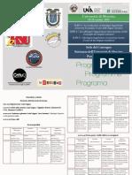 Programa ILPE 4 Messina octubre 2019