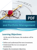 Demo_Introduction to Investment and Portfolio Management