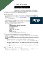 Reference Guides ETHNOMUSICOLOGY