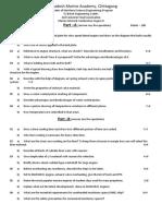 MICE II questions - set -1 .pdf