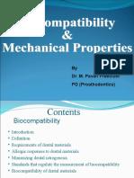 Biocompatibility & Mechanical Properties