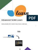 advanced scikit learn