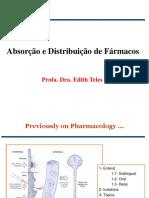 Cinética 1 - Absorção e Distribuição