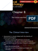 Chapter 8-The Clinical Interview