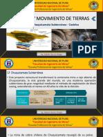 Mina Chuquicamata-tuneles y Movimiento de Tierras