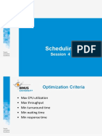 MOOC 4 Scheduling