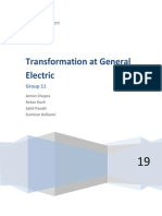 Transformation at General Electric
