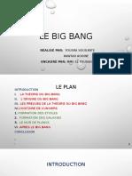 Le big bang