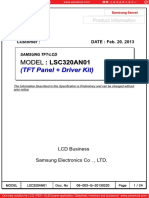 Panel Samsung Lsc320an01 1