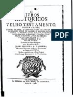 Os Livros Historicos Do Velho Testamento, Convem a Saber, o Livro de Josue, o Livro Dos Juízes, o Livro de Ruth... - Paisagem
