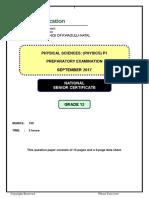 2017-Physics-P1-KZN