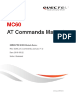 Quectel MC60 at Commands Manual V1.2