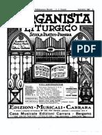El organista liturgico