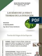 Teorias de La Evolucion de Las Especies