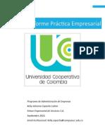 Informe Final de Practica (Formato Decanatura Admon)