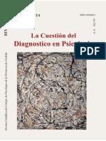 Revista de Psicologia La Cuestion Del Diagnostico en Psicologia