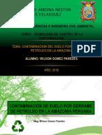 Contaminacion Por Petróleo en La Amazonía Peruana